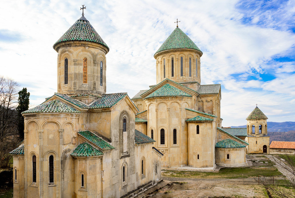 Gelati Monastery built in 1106 situated just out of town of Kutaisi in Georgia