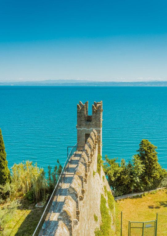 City walls in Piran