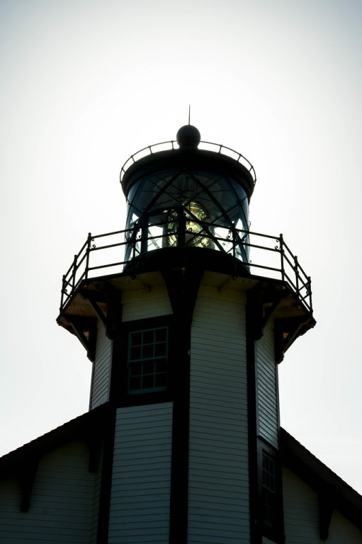 Top of a mini lighthouse