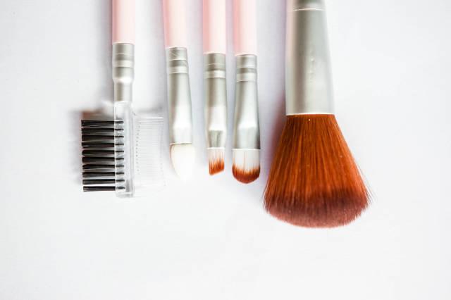 Verschiedene Make-up Pinsel