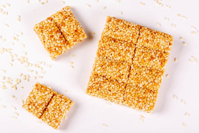 Healthy bar - candy made of sesame and honey