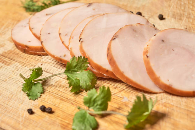 Halal Meat prepared with smoked chicken
