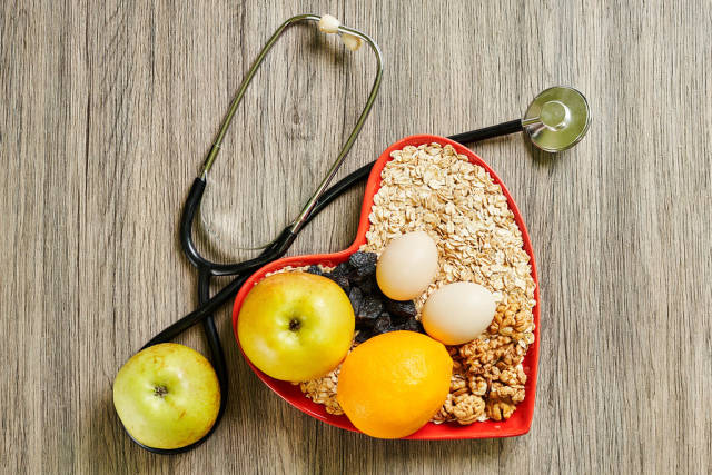 Healthy eating - reduce risk of developing heart disease