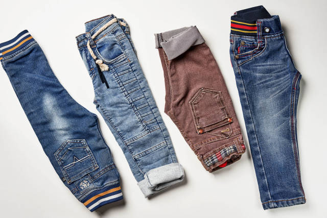 Four jeans pants for kid boy