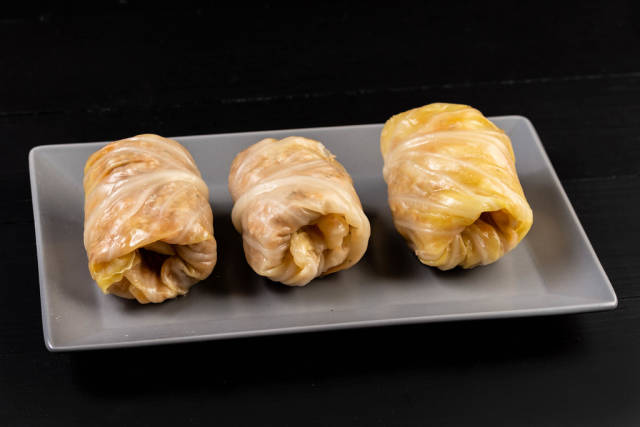 Serbian Sarma prepared for cooking