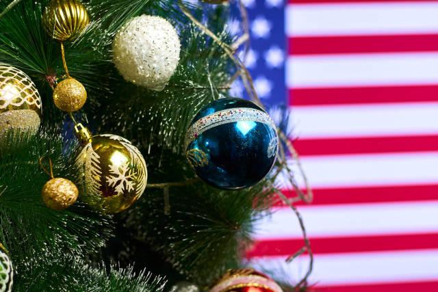 Christmas holidays in USA