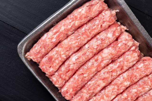 Fresh Market Raw Minced Meat Kebabs