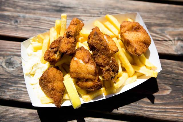 Danish fish n chips