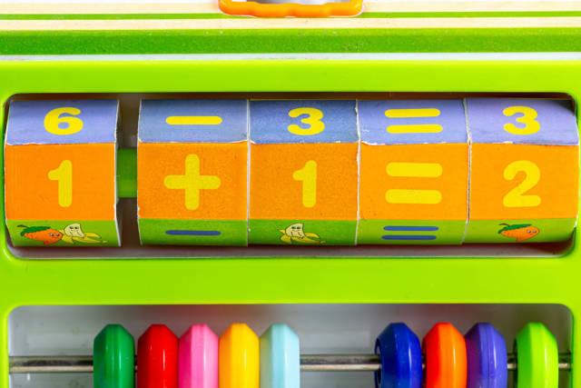 Toy for teaching children math