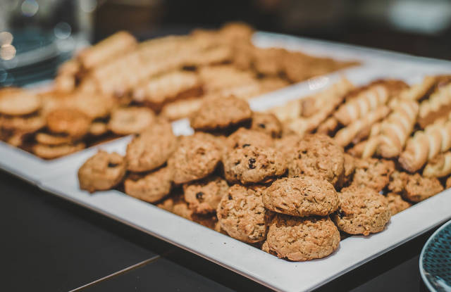 Chocolate Cookies With Oat