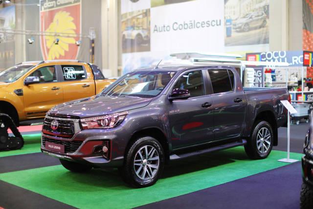 Toyota Hilux Legend truck at Bucharest Auto Show 2019 SAB