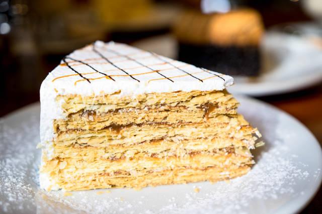 Tausend-Schichten-Torte aus Chile