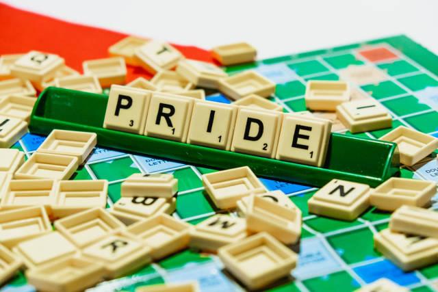 "Pride"" word on scrabble"