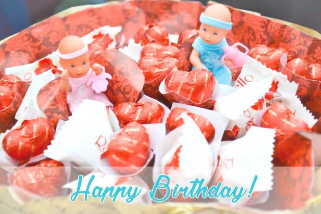 Happy Birhtday: Schokolade