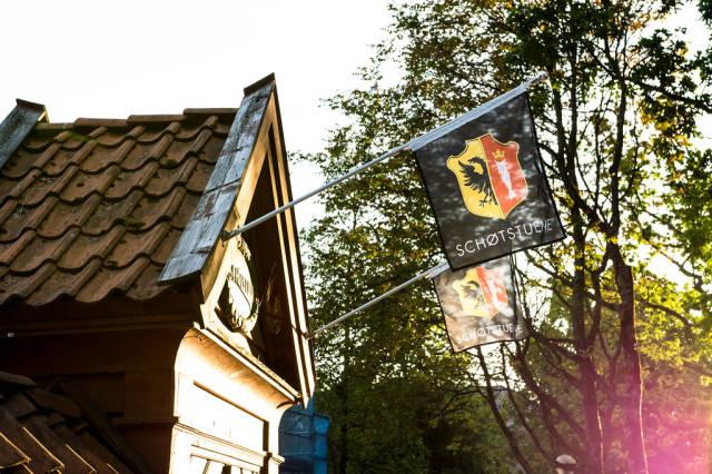 Shøtstuene museum in Bergen, Norway