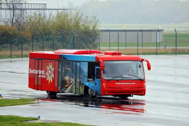Zurich Airport Bus, Switzerland sticker