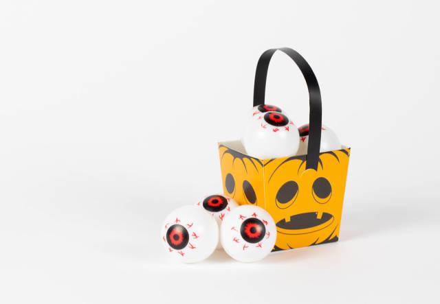 Creepy Halloween eyes