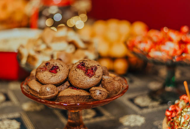 Christmas Muffins With Chocolate