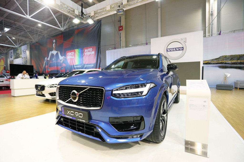 Volvo XC90 at Bucharest Auto Show 2019 SAB