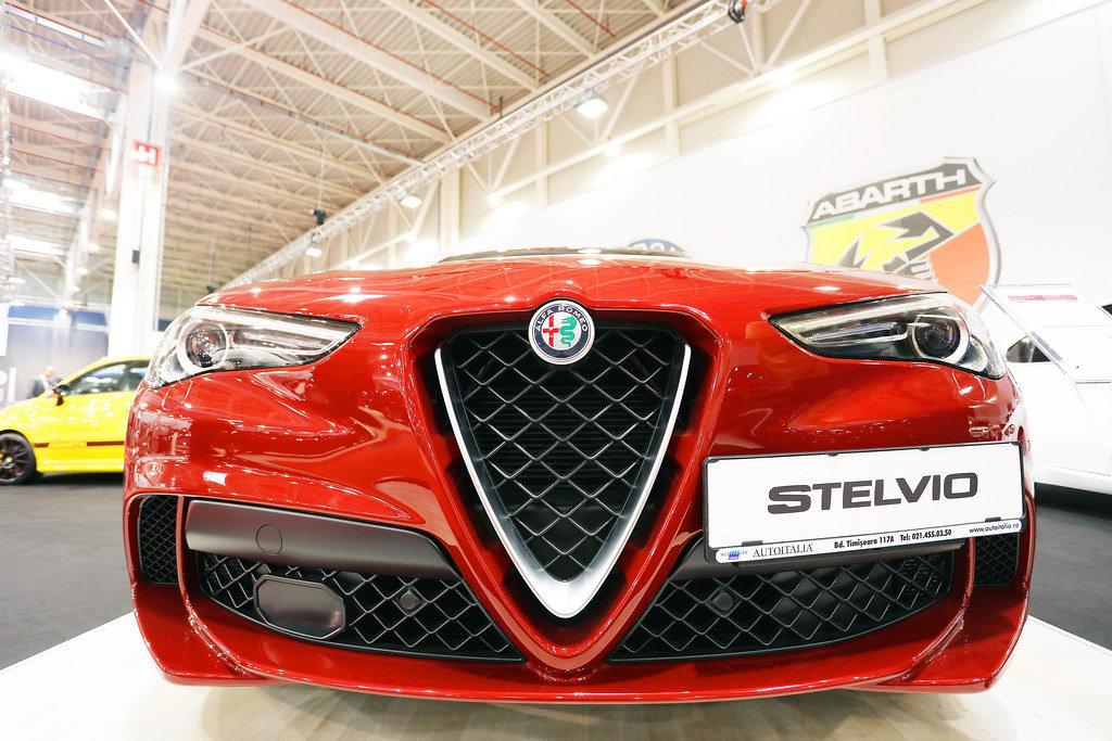 Alfa Romeo Stelvio at Bucharest Auto Show 2019 SAB