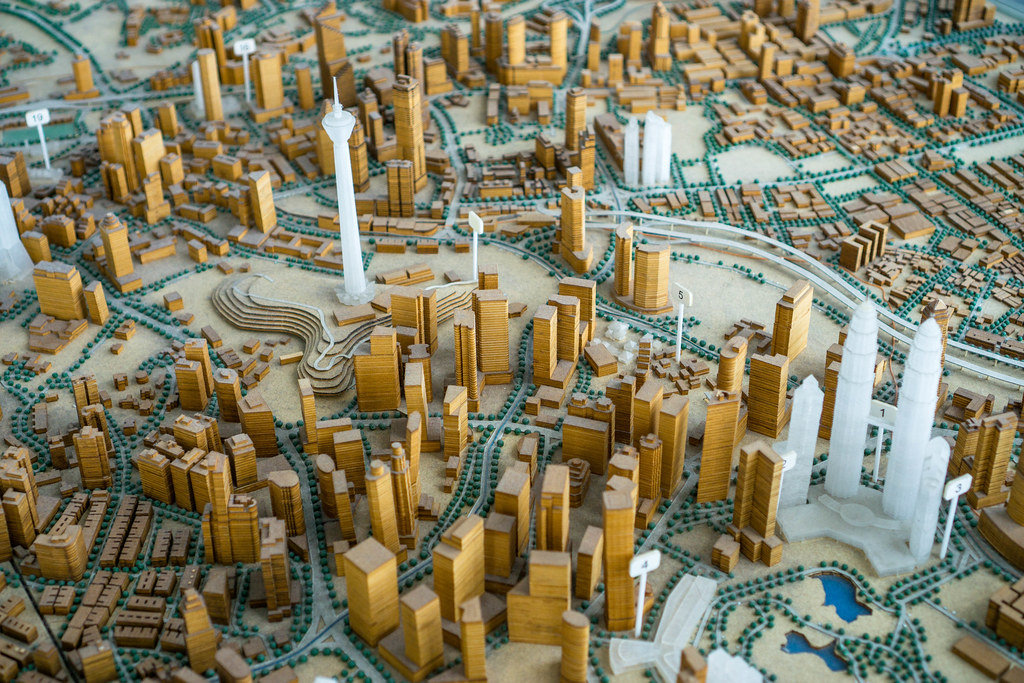 Miniature Model of Kuala Lumpur, Malaysia