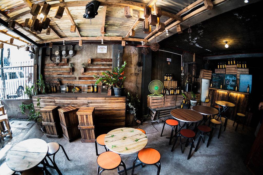 Fisheye View of Mayoks Coffee Shop in Bacolod