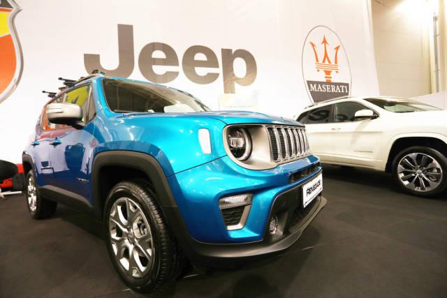 Jeep Renegade at Bucharest Auto Show 2019 SAB