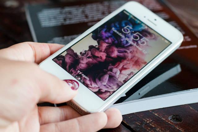 TouchID on Apple iPhone