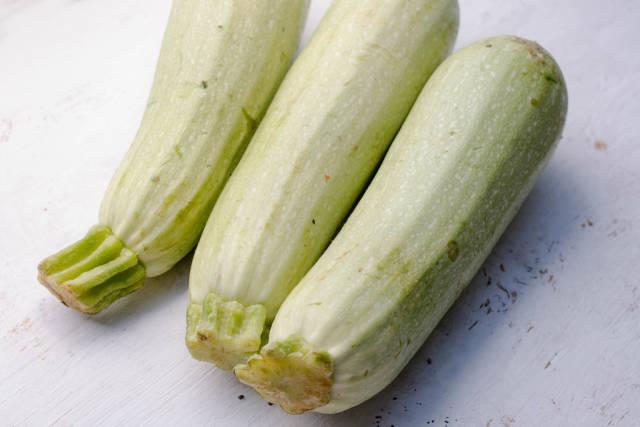 Zucchini Nahaufnahme