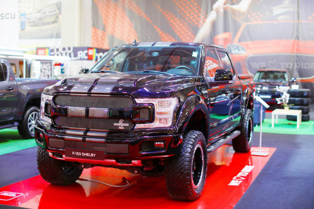 Ford F-150 Shelby truck at Bucharest Auto Show 2019 SAB