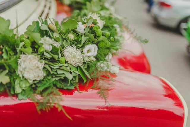 Floral Car Decor