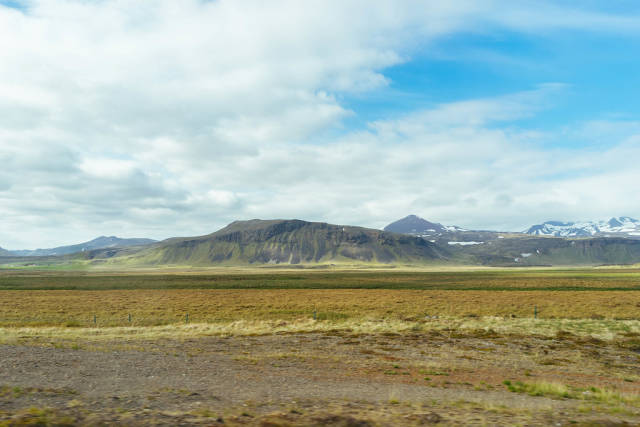 Typical Western Iceland landscape / Typische West-Island-Landschaft