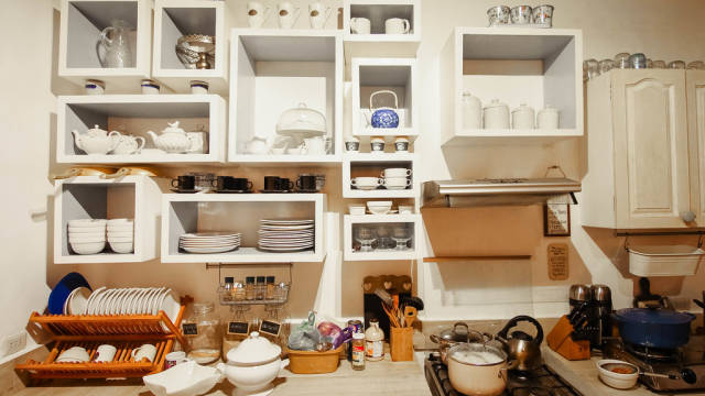 Kitchenware collection of a vacation house, Salvador Benedicto