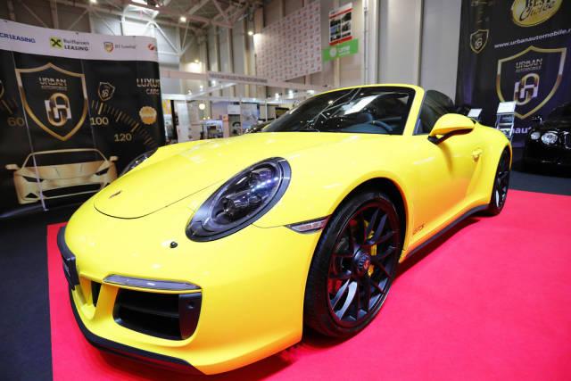 Porsche Carrera 911 at Bucharest International Auto Show 2019