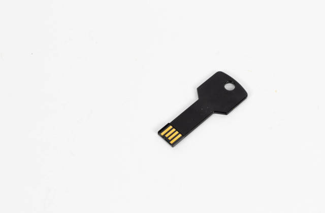 Key shaped USB flash drive