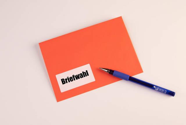 Pen mit Briefwahl