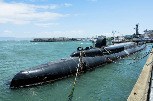 Das U-Boot USS Pampanito