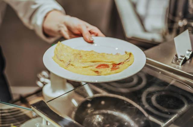 Leckeres Omelette