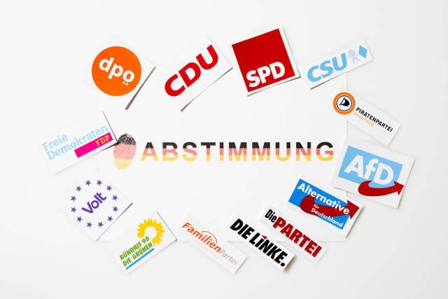 CDU, SPD, CSU, FDP, Grünen, Volt, AfD, Piraten, Linke, ödp: Abstimmung für Bundestagswahl 2021