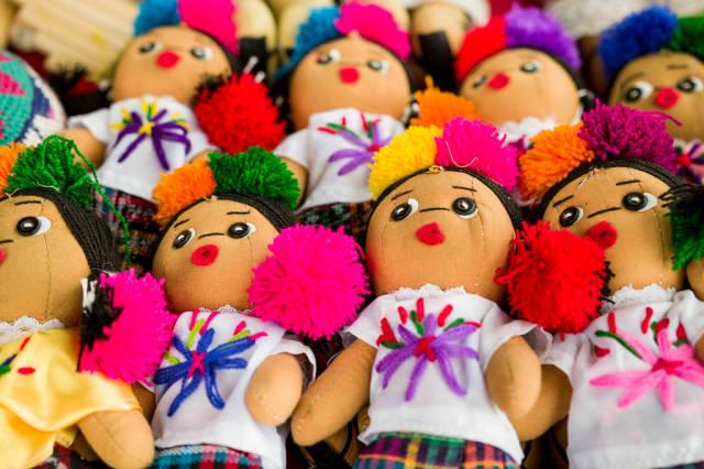 Guatemalan indian dolls
