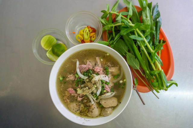 Vietnamese Noodle Soup Pho in Vietnam