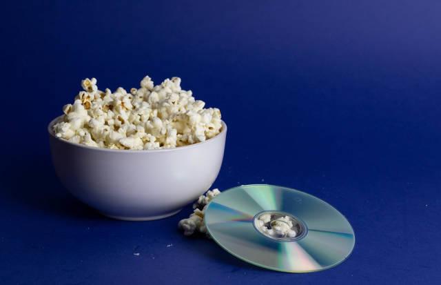 Popcorn and DVD