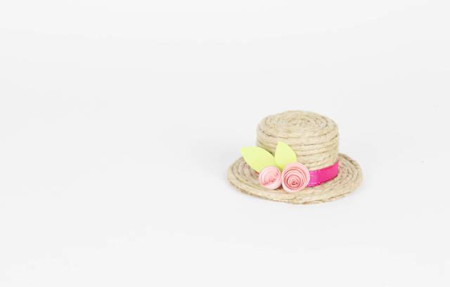 Hat on white background