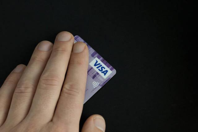 Mit Visa bezahlen