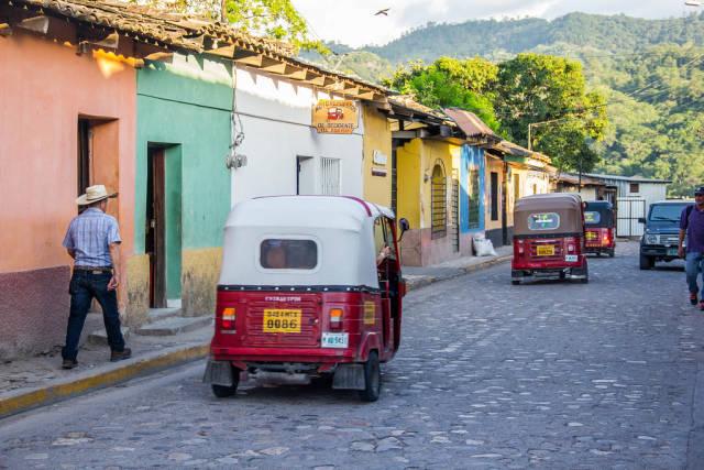 Straße aus der Kolonialzeit