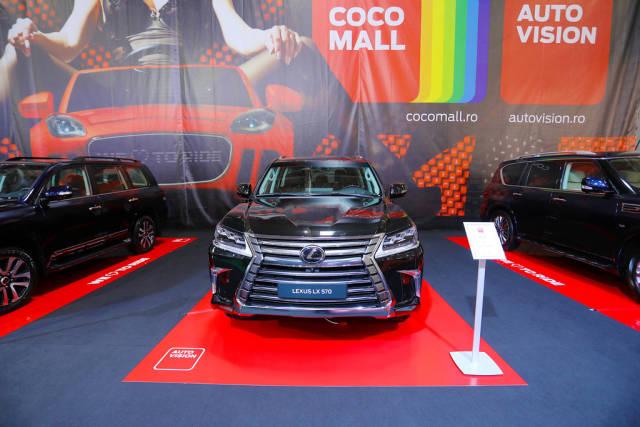Lexus LX 570 at Bucharest Auto Show 2019, SAB
