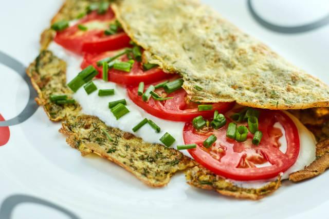 Tasty morning food. Healthy diet food for breakfast