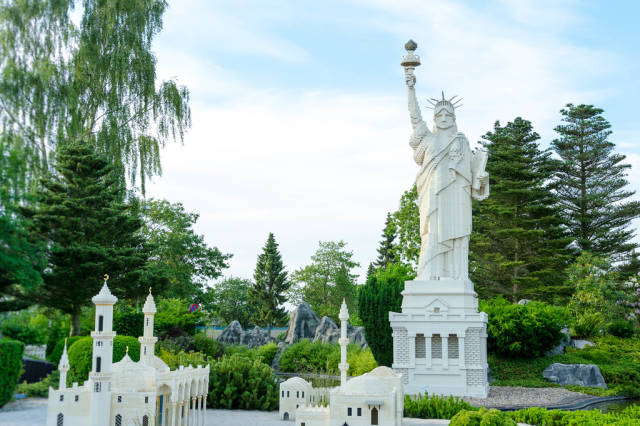 Lego replica of the USA Statue of Liberty