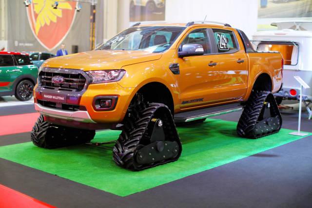 Ford Ranger Wildtrak ACF track at Bucharest Auto Show 2019 SAB