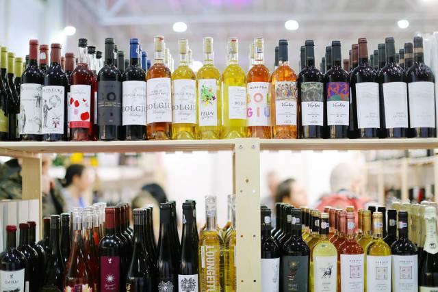 Various wine type at GoodWine Wine Fair